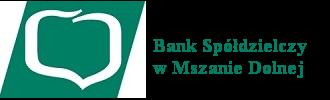 Logo Banku Spółdzielczego w Mszanie Dolnej